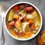 Sausage Sauerkraut Soup