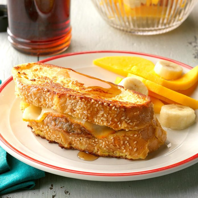 Sausage Stuffed French Toast