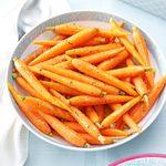 Sauteed Orange-Glazed Baby Carrots