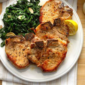 pork chops with honey-garlic sauce recipe taste of home Pork Chops with Honey-Garlic Sauce Recipe: How to Make It  Taste