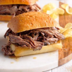 Savory Beef Sandwiches