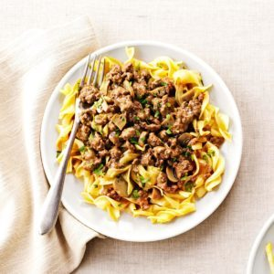 Savory Beef and Noodles