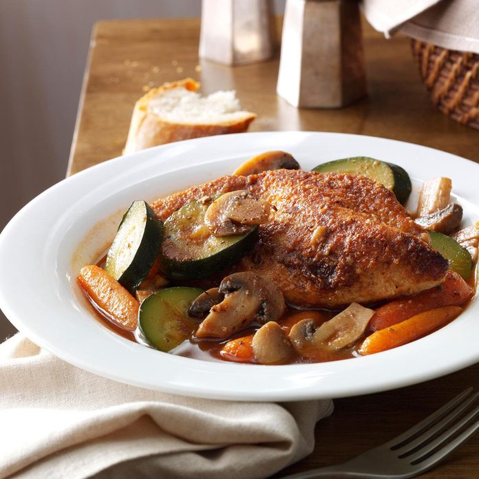 Day 7: Savory Braised Chicken with Vegetables