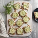 Savory Cucumber Sandwiches