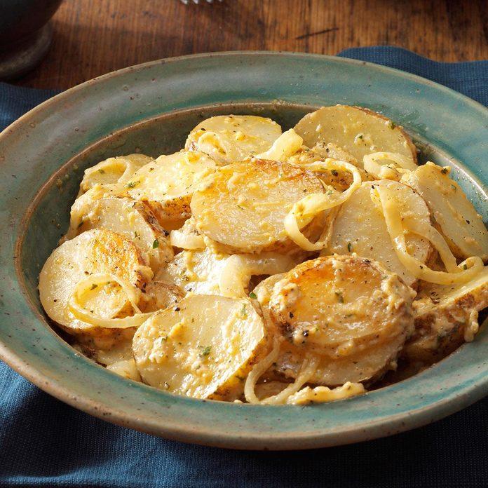 Oregon: Savory Grilled Potatoes