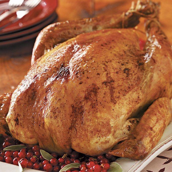 Savory Grilled Turkey