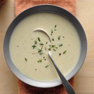 Savory Leek Soup
