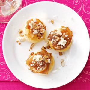 Savory Pear Tarts