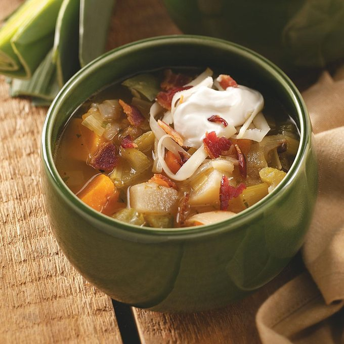 Savory Root Vegetable Soup