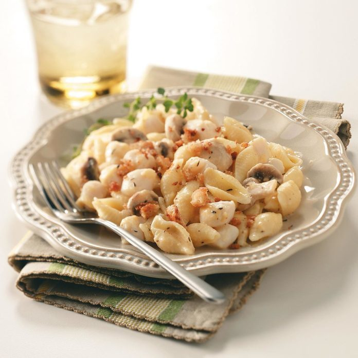 Scallop Mac & Cheese