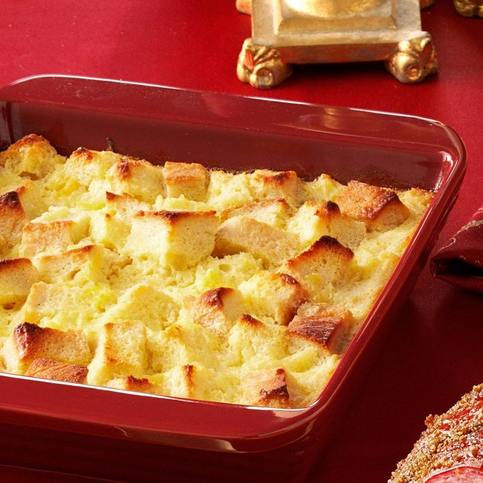 Scalloped Pineapple Side Dish Casserole