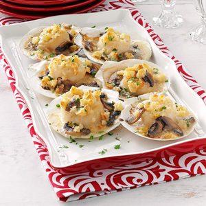 Scallops in Shells