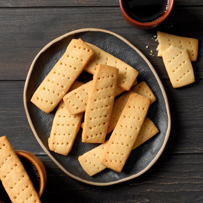 Inspired by Trefoils and Shortbread Cookies
