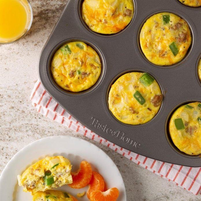 Scrambled Egg Muffins