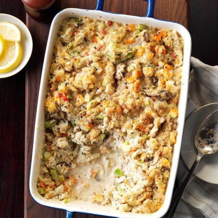 Day 36: Seafood Casserole