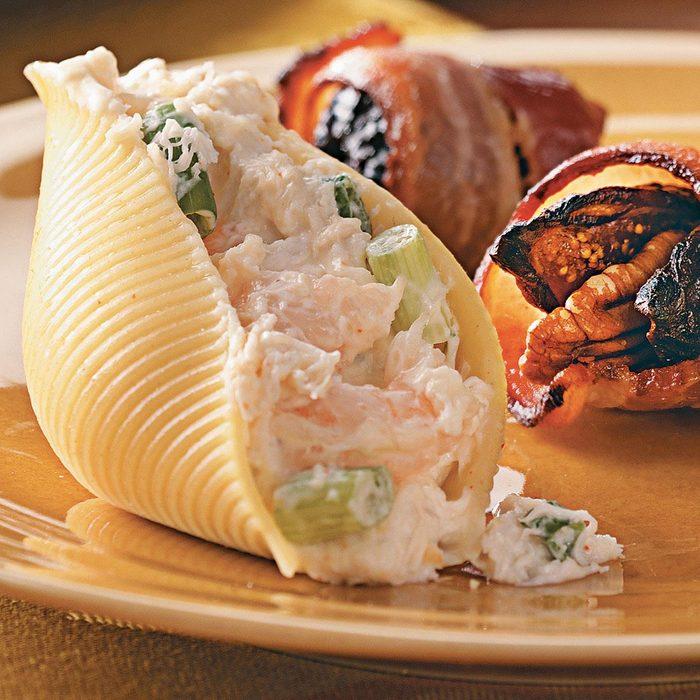 Seafood & Cream Cheese Stuffed Shells