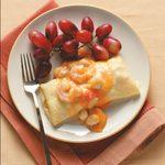 Seafood Crepes Bearnaise
