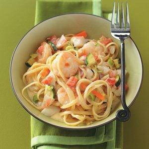 Seafood Pasta Alfredo