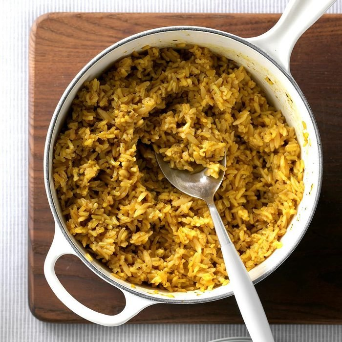Seasoned Brown Rice Pilaf
