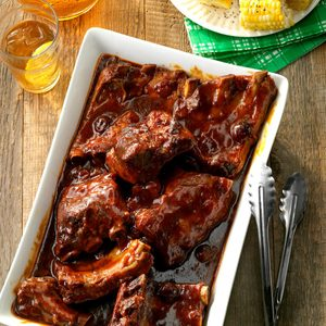 """Secret's in the Sauce"" BBQ Ribs"