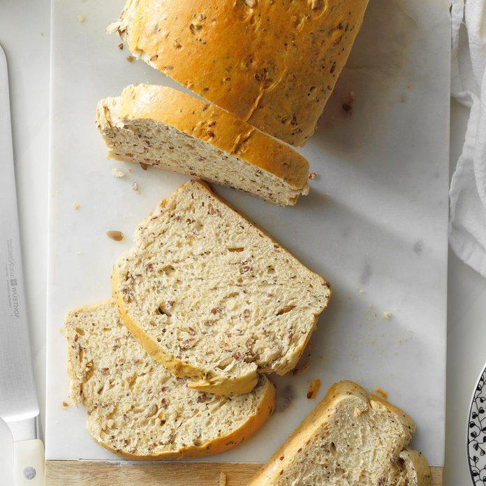 Seeded Honey Wheat Bread