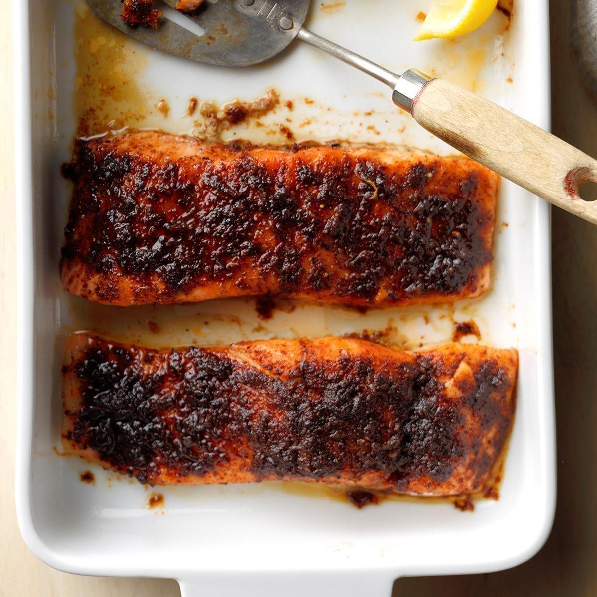 Sensational Spiced Salmon