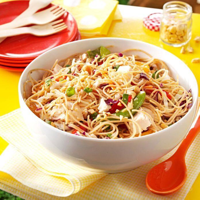 Sesame Chicken Noodle Salad
