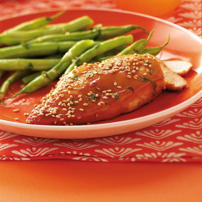 Sesame Cilantro Chicken
