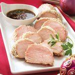 Sesame Pork Appetizers