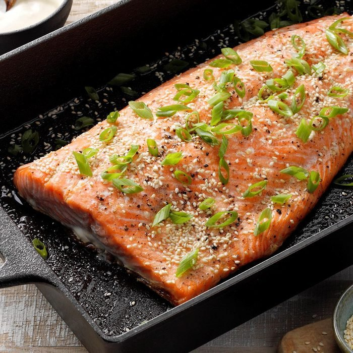 Sesame Salmon With Wasabi Mayo Exps Cimzw20 133013 E09 02 4b 4