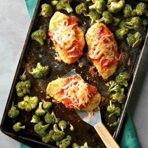 Sheet-Pan Chicken Parmesan