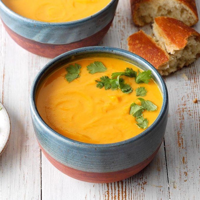 Sherried Sweet Potato Soup