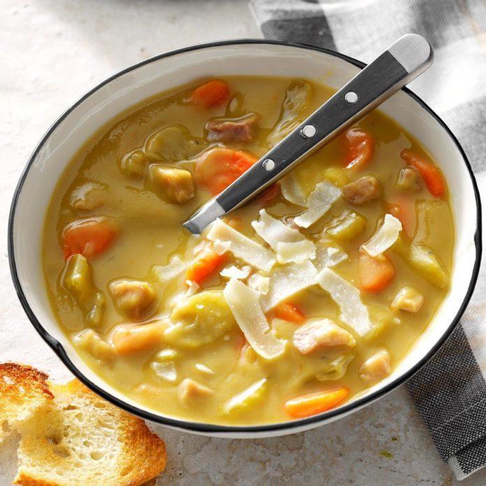 Shortcut Split Pea Soup