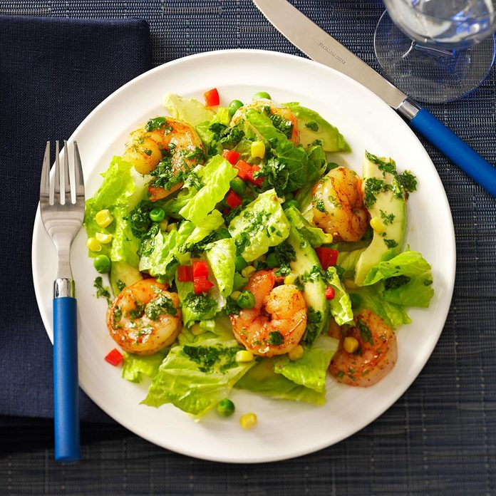 Inspired by: Margaritaville Caribbean Shrimp & Citrus Salad