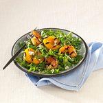 Shrimp Salad with Peaches