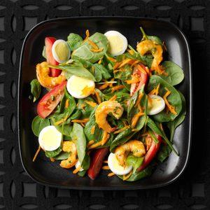 Shrimp & Spinach Salads