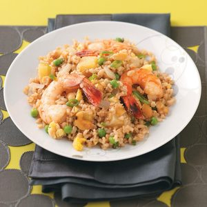 Shrimp and Pineapple Fried Rice