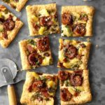 Shrimp and Pineapple Party Pizza