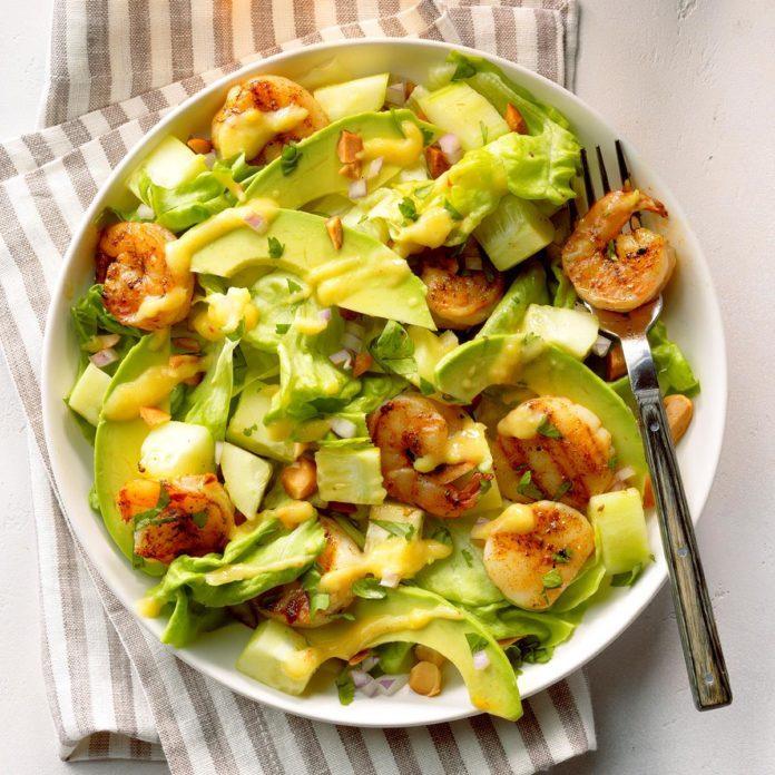 Shrimp N Scallops Tropical Salad Exps Cf2bz20 40311 E12 06 2b 3