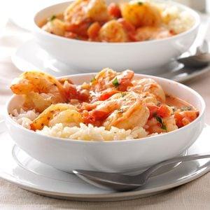 Shrimp with Tomatoes & Feta
