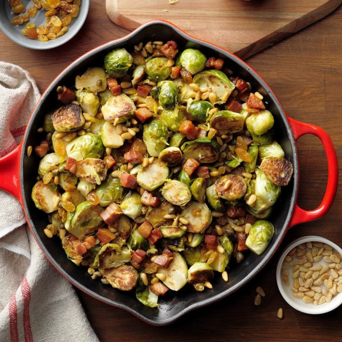 Sicilian Brussels Sprouts