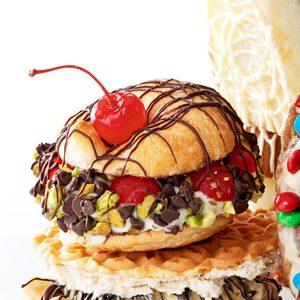 Sicilian Ice Cream Sandwiches