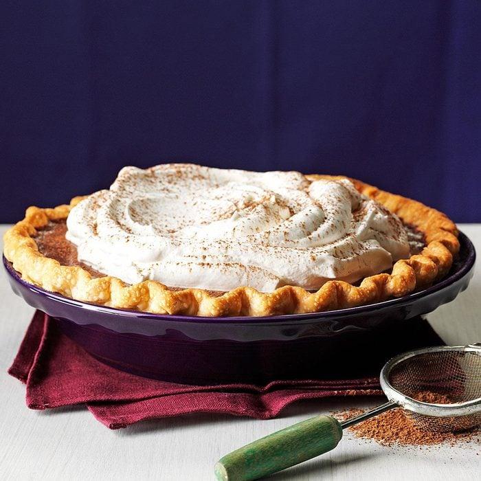 Silky Chocolate Pie