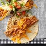 Simmered Turkey Enchiladas