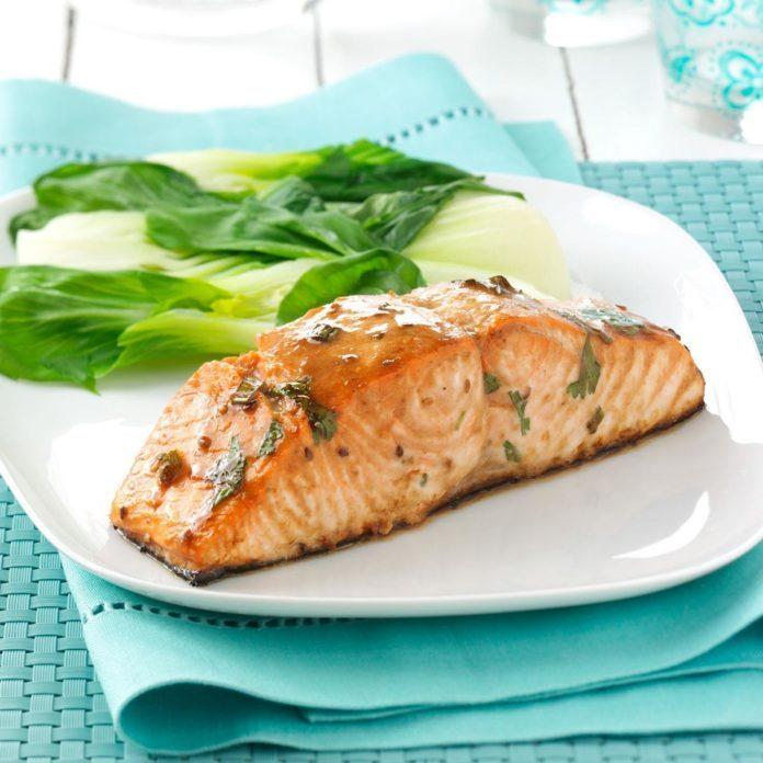 Simple Asian Salmon