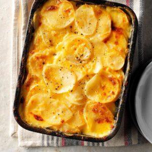 Simple Au Gratin Potatoes