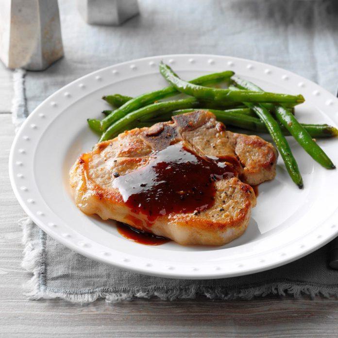 Simple Sweet 'n' Tangy Pork Chops