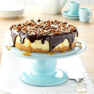 Simple Turtle Cheesecake