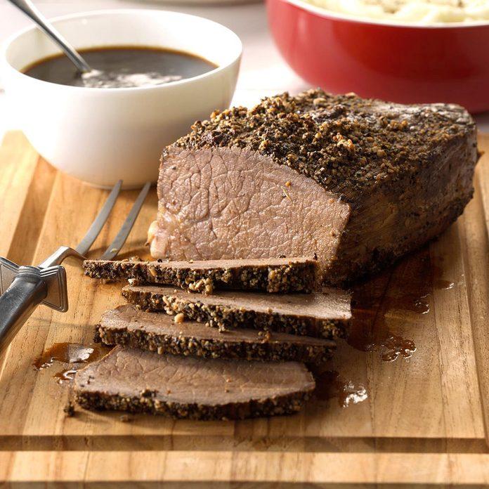 50: Sirloin Roast with Gravy