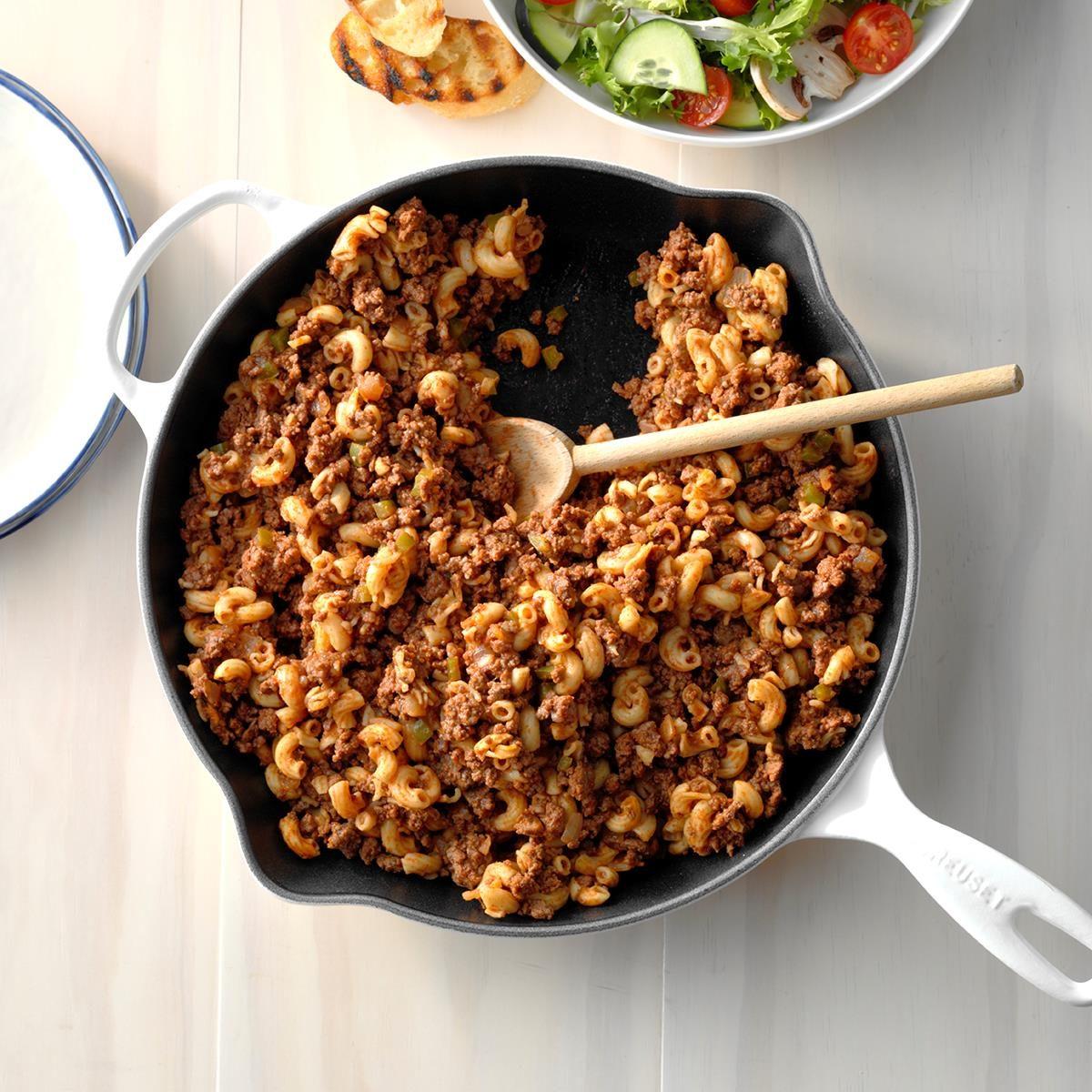 Skillet Beef and Macaroni
